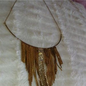 Jewelry - Golden Waterfall Choker